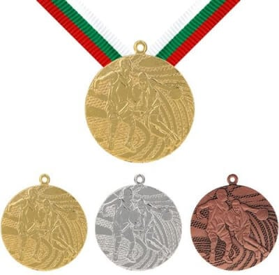 40 mm Basketball Medaille