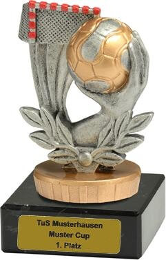 Trophäe Handball, 55x95mm
