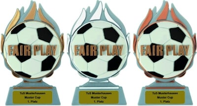 3er Serie FAIR PLAY, Trophäen 15cm